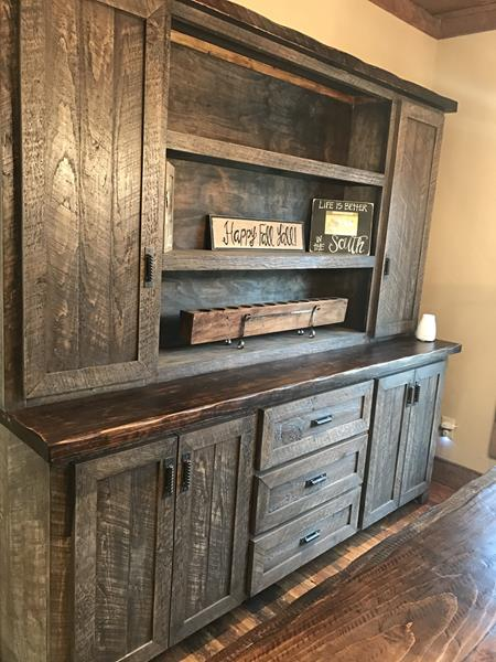 Rustic Cabinets In North Georgia