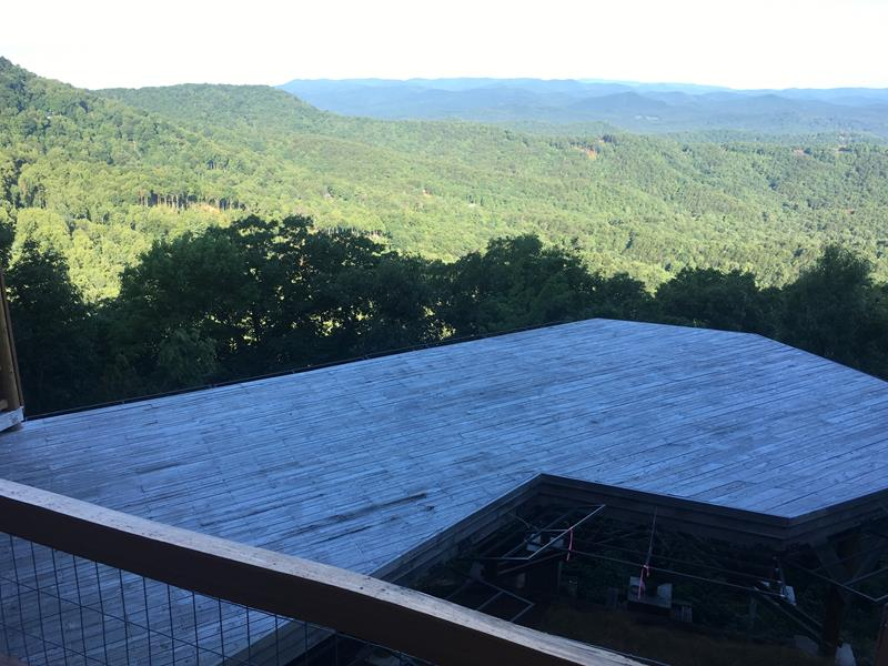 Helicopter Pad Project In Blue Ridge Georgia